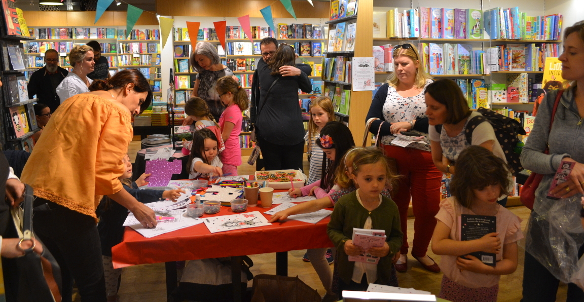Isadora Moon event at Welwyn Waterstones - 19th August 2017