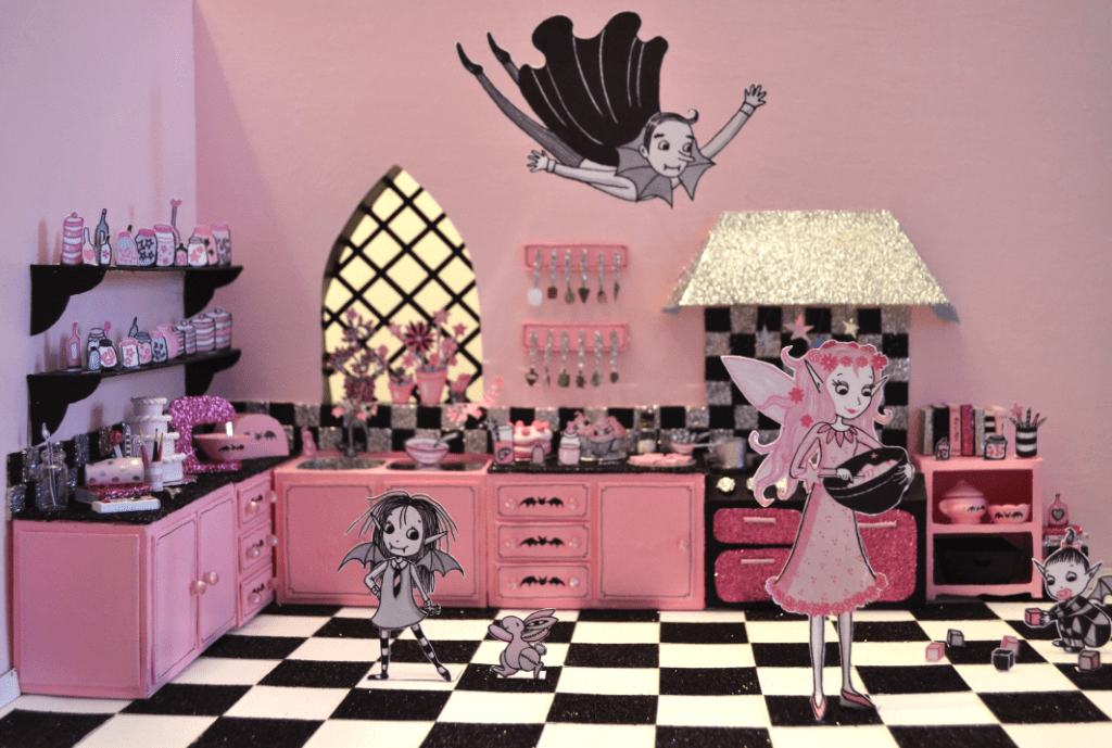 Isadora Moon 3D illustration by Harriet Muncaster