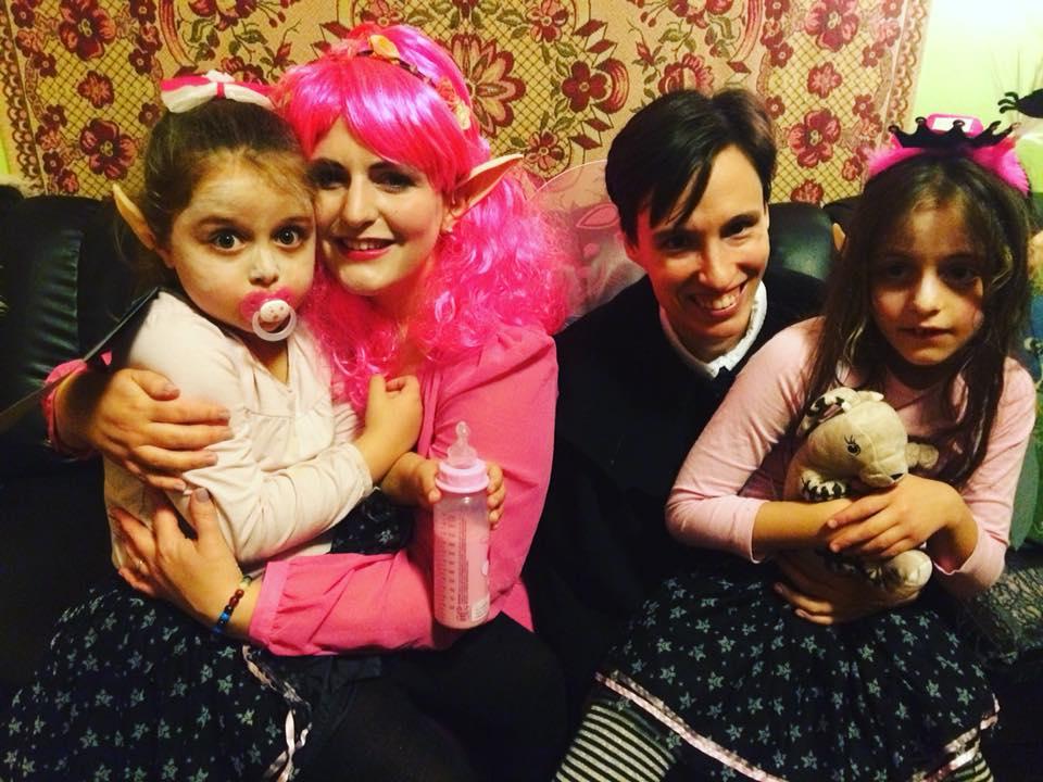 Isadora Moon Halloween Costume Family 3