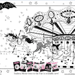 Isadora Moon at the Fair Colouring Sheet