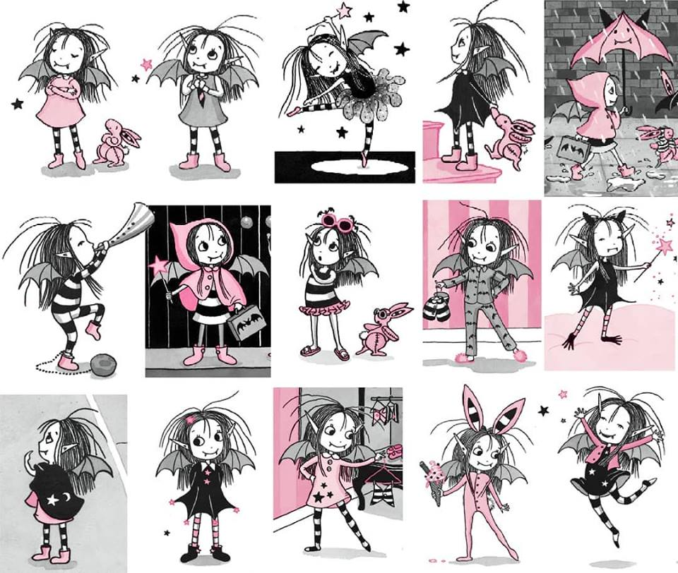 Isadora Moon's different outfits