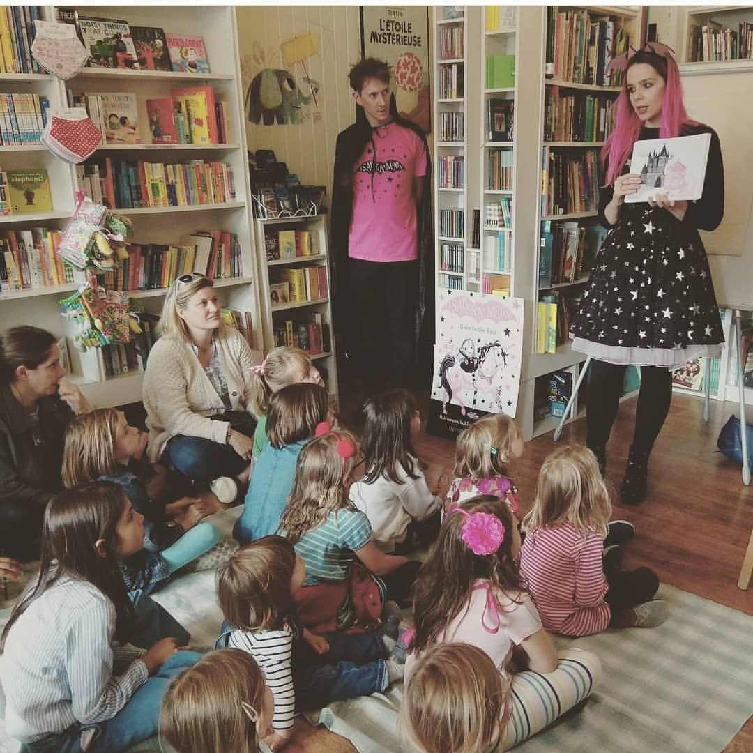 Isadora Moon Party at Tales on Moon Lane with Harriet Muncaster