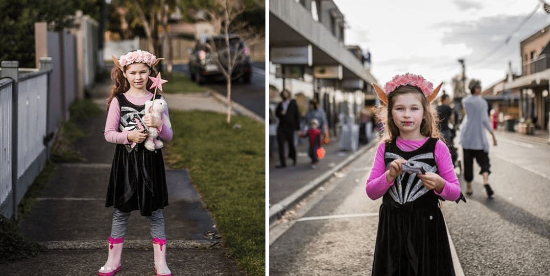 Isadora Moon costume by uponourdays_photography
