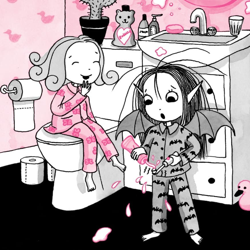 Isadora Moon has a Sleepover preview