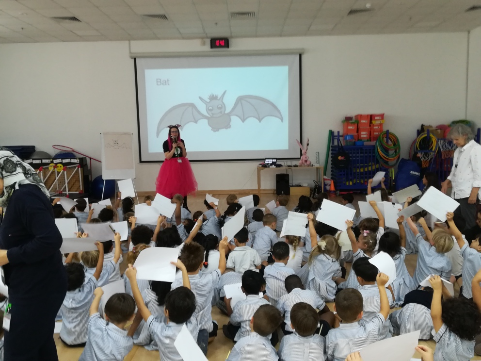 Harriet Muncaster visits Dubai British Foundation