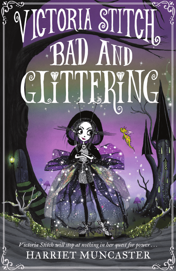 Victoria Stich: Bad and Glittering front cover