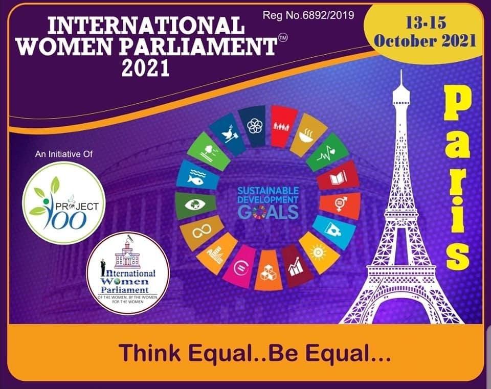 International Women Parliament 2021, una iniciativa de Project 100