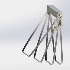 SQ Drip Tray Frame half
