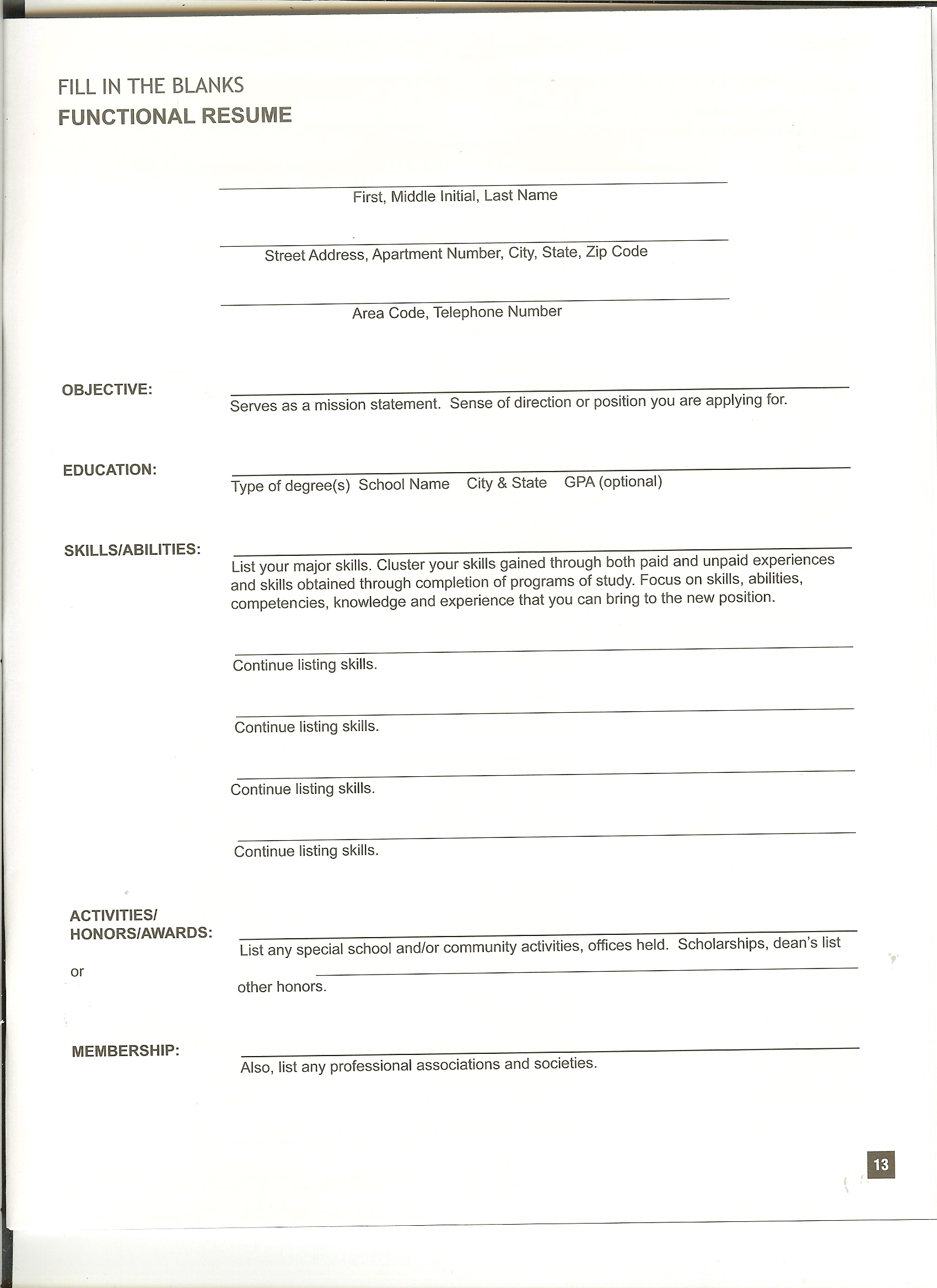 resume application form simple sample resumes forms free