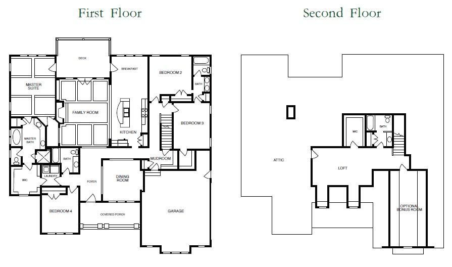 New Kitchen Floor Plans