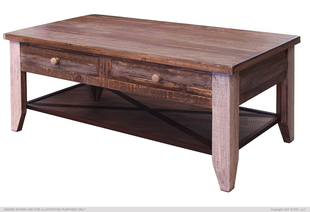 ifd 963 antique coffee table