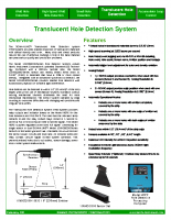 HIC Translucent Hole Detection System