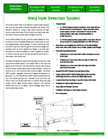 HIC Weld Hole Detection System