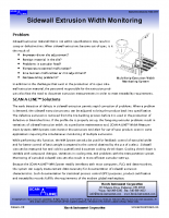 HIC Sidewall Extrusion Width Monitoring