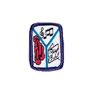 The Performing Arts Girl Scout Badge at Harris Academy of the Arts