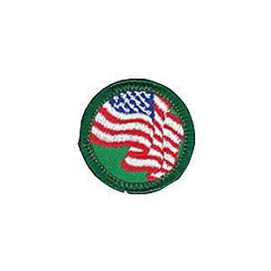United We Stand Girl Scout Badge at Harris Academy of the Arts