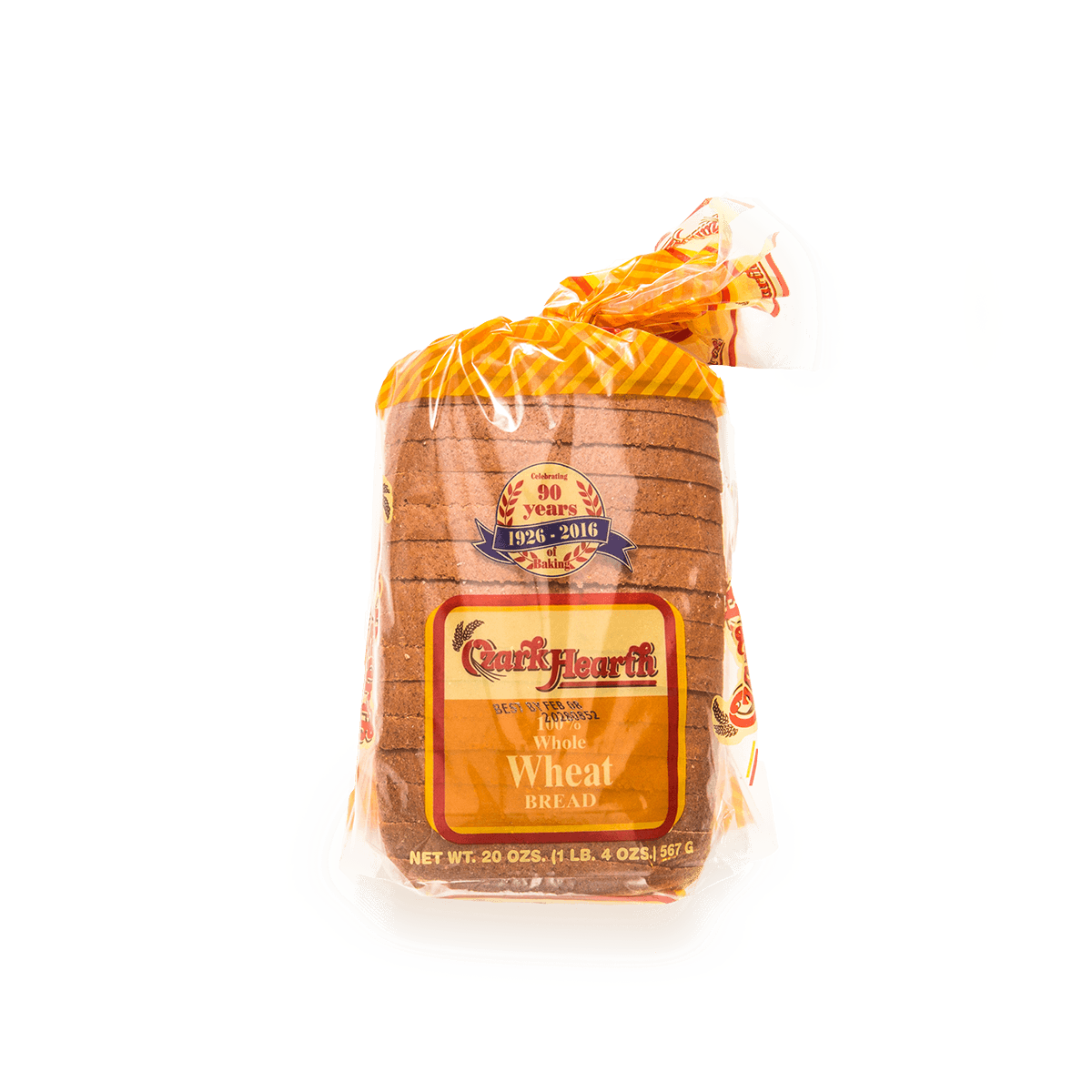 Ozark Hearth 100% Whole Wheat Bread