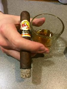 The First Third - La Gloria Cubana Serie RF No. 13 cigar by Aaron Aiken from the Harrisburg Cigar Club