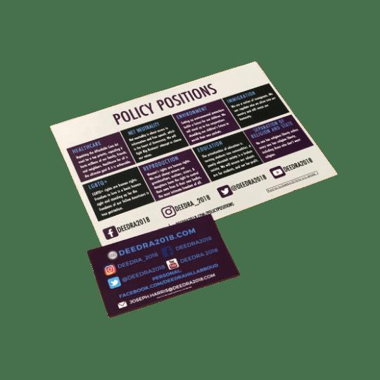 Info graphic Card & Print
