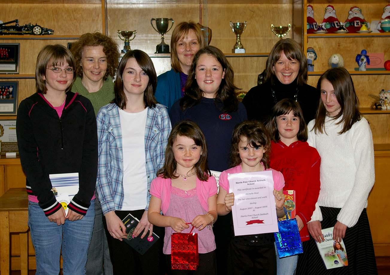 Prizegiving 2008