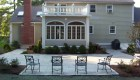 15-Formal bluestone patio with granite cobble edging (4)