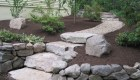 23-Olde Sturbridge Stepper with pea stone walkway (1)