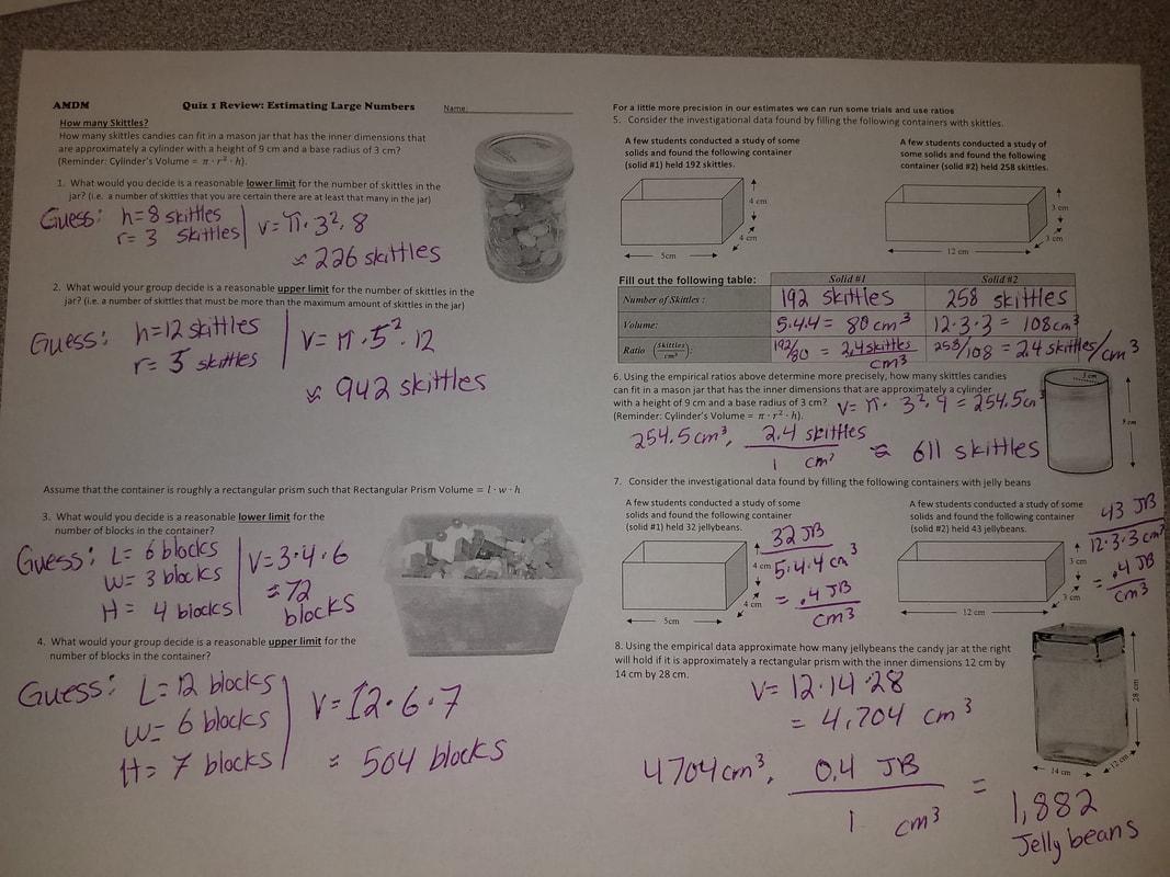 Category Unit 1yzing Numerical Data