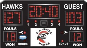 Harris Time scoreboard HT1500