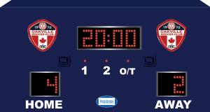 Harris Time scoreboard HT5000