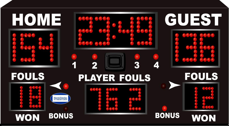 HT 2000 Gymnasium Scoreboard