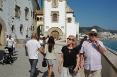 Walk in Sitges