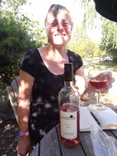 The Wooing Tree's Pinot Noir Rose was our favourite