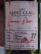 Tasted this whilst walking the Queen Charlotte Track. An excellent Malbec that went well with the venison.