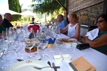 Castro wines at the Quinta