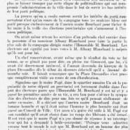 «MM. Barceloux et Richer sont élus»