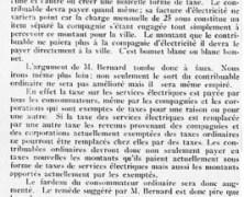 «La question de l'électricité à bon marché»