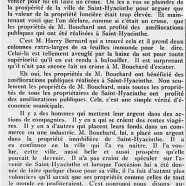 «La perspicacité de M. Harry Bernard»