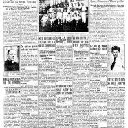 """«La une du """"Courrier"""" en 1937»"""