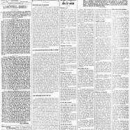 «Page éditoriale du Courrier en 1940»