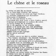 «Le chêne et le roseau»