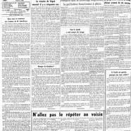 """«La page éditoriale du """"Courrier"""" en 1960»"""