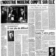 """«La une du """"Courrier"""" en 1961»"""