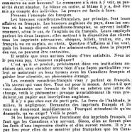 «Le français dans les banques»
