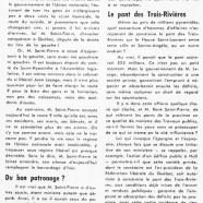 «Autour et alentour de M. René Saint-Pierre»