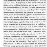 «Le gouvernement de Maurice Duplessis est celui de la jeuness»