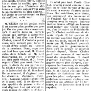 «Me Victor Chabot goujat et pantin»