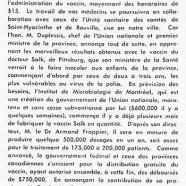 «Maurice Duplessis et le vaccin Salk»