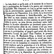 «Le Canada, colonie»