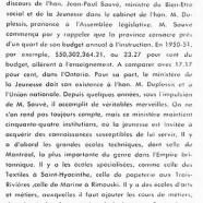«L'honorable Maurice Duplessis et la jeunesse»