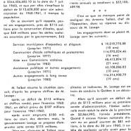 «M. Jean Lesage trompa la population, à propos des finances de la province»